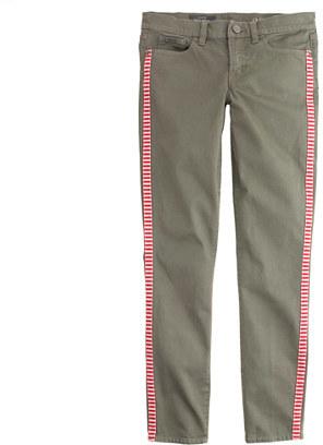 J.Crew Toothpick jean in tux stripe