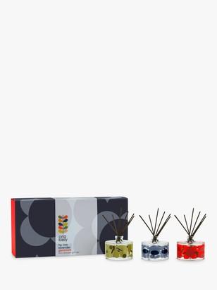 Orla Kiely Midnight Flower Reed Diffuser Gift Set