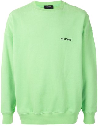we11done Embroidered Logo Sweatshirt