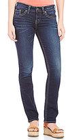 Silver Jeans Co. Suki Woven Stretch Straight-Leg Jeans