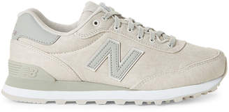 New Balance Stone Grey 515 Low-Top Sneakers