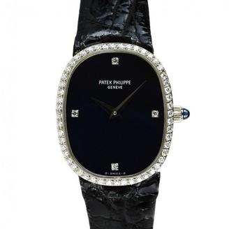 Patek Philippe Ellipse Navy White gold Watches