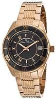 Lucien Piccard Women's LP-12741-RG-11-BCB Saraille Analog Display Japanese Quartz Rose Gold Watch