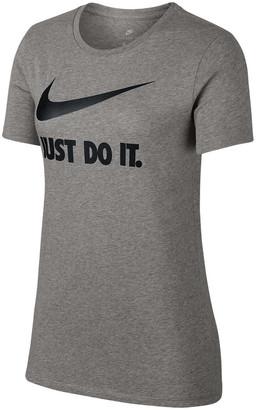 Nike Womens Just Do It Swoosh Tee