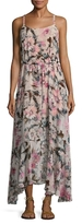 Plenty by Tracy Reese Printed Flounce Maxi Dress