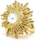 Oscar de la Renta Pearl Sun Star Ring