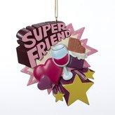 "Kurt Adler Resin ""super Friend"" Ornament"