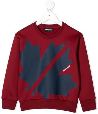 DSQUARED2 Maple Leaf Sweatshirt
