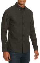 Kenneth Cole New York Line Printed Woven Shirt