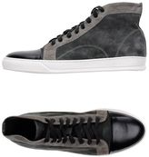 Grey Daniele Alessandrini High-tops & sneakers