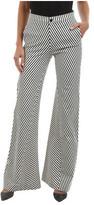 J Brand Women's Larrabee Striped Flare Trouser