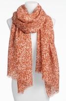 MICHAEL Michael Kors Animal Print Wool Scarf