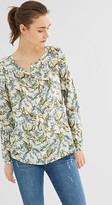 Esprit Light blouse with a floral print