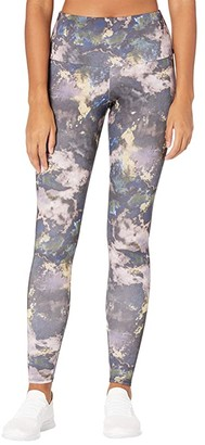 Onzie Agave High Rise Leggings (Giraffe) Women's Casual Pants