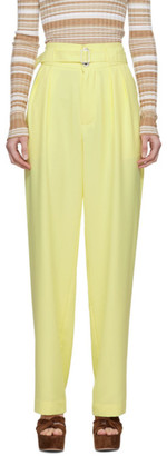 Simon Miller Yellow Belted Barr Trousers