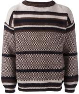 Marni intarsia jumper - men - Virgin Wool - 46