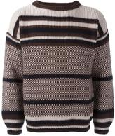 Marni intarsia jumper - men - Virgin Wool - 48