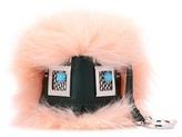 Fendi Bag Bugs leather charm with fur