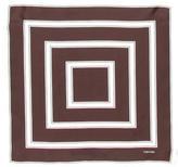 Tom Ford Printed Silk Pocket Square