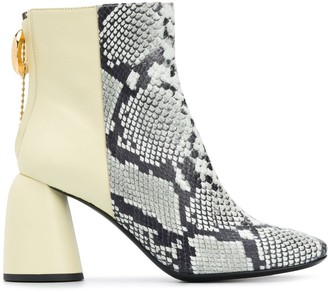 Ellery Clemente 85mm ankle boots