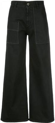 Brunello Cucinelli wide leg jeans