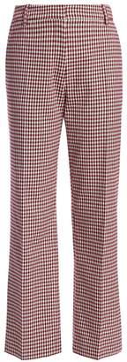 Derek Lam 10 Crosby Galen Plaid Straight Pants