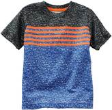 Osh Kosh Boys 4-8 Colorblock Striped Active Tee