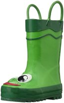 Western Chief Frog Rain Boot (Toddler) - Green-5 Toddler