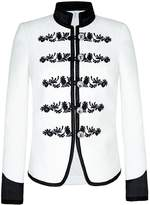 The Extreme Collection - Bicolor Black And White Blazer