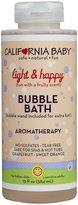 California Baby Bubble Bath - Light & Happy - 13 oz