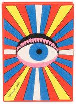 Olympia Le-Tan Eye book clutch - women - Cotton/metal - One Size