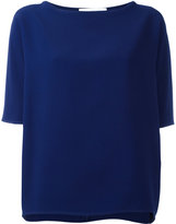 Gianluca Capannolo short-sleeved top - women - Acetate/Viscose - 42