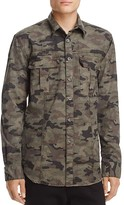 Hudson Camouflage Regular Fit Button-Down Shirt