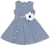 Il Gufo Striped Cotton Jersey Dress