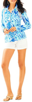 Lilly Pulitzer Skipper Printed Popover Top