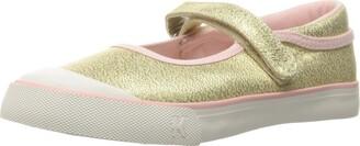 See Kai Run Girl's Marie Gold Glitter Jane 4 M US Toddler