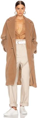 Max Mara Madame Coat in Camel | FWRD