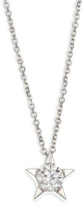 Hearts On Fire Illa Star Diamond Solitaire Pendant Necklace