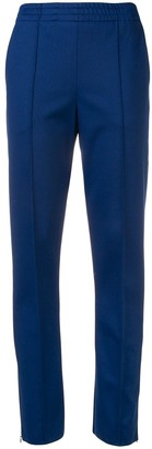 Joseph Elasticated Waistband Slim-Fit Trousers