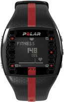 Polar FT7 Mens Heart-Rate Monitor Chronograph Black Strap Watch