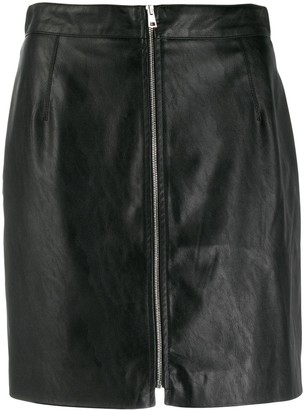 Pinko Textured Mini Skirt