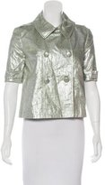 Gryphon Metallic Short Sleeve Jacket