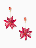 Kate Spade Blooming brilliant statement earrings