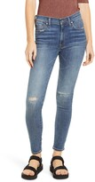 Edwin Pixie Ripped Ankle Skinny Jeans