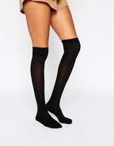 Asos 2 Pack Over The Knee Socks