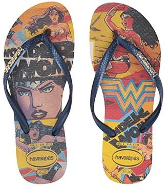 Havaianas Slim Wonder Woman Flip-Flops (Ballet Rose) Women's Sandals