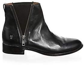 Frye Women's Carly Zip Leather Chelsea Boots