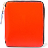 Comme des Garcons Super Fluo Neon Leather Wallet - Orange
