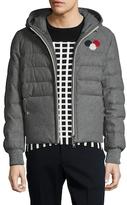 Moncler Asperge Wool Puffer Jacket