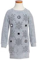 Little Marc Jacobs Girl's Velvet Sweater Dress